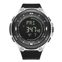 Digital Watch Men's Waterproof Sport Clock Men Barometer Altimeter Thermometer Stopwatch Wrist Watch