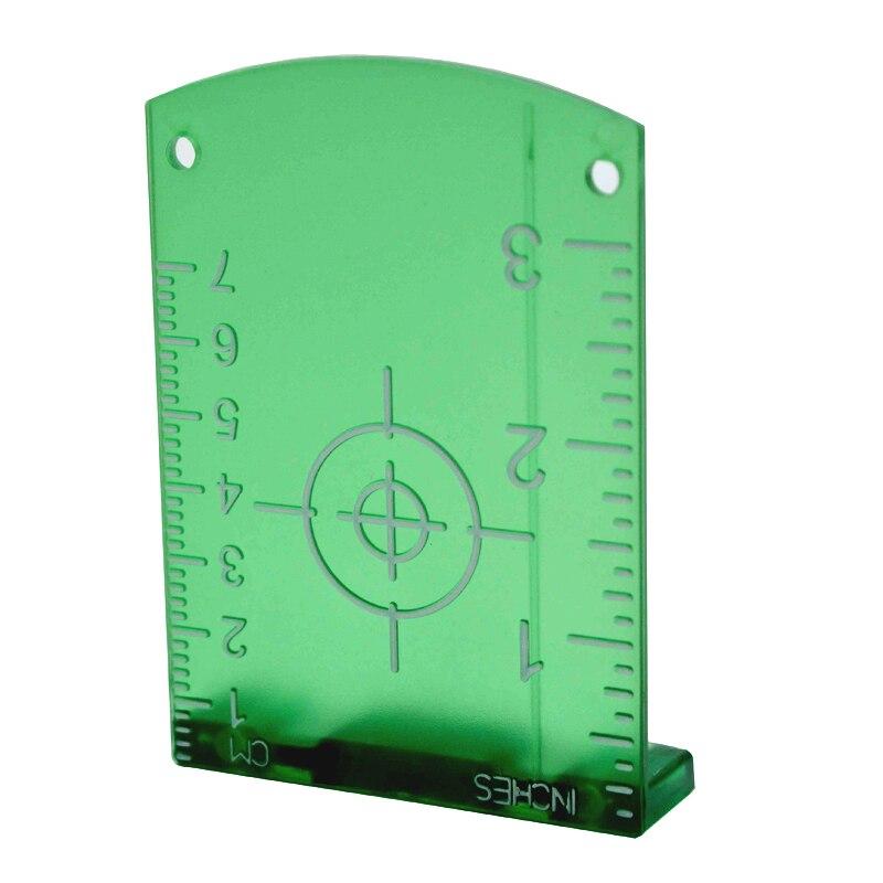 Zokoun Grün strahl horizontale und vertikale kreuz laser linien magnetische laser ziel platte