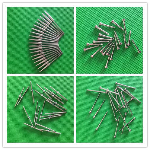 20 Uds pulido dental de laboratorio 2,35mm vástago diámetro mandril fresas herramienta rotativa dentista