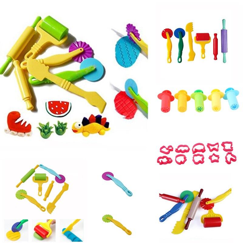 Набор форм для игры в тесто, Обучающие инструменты для пластилина, 3D инструменты для пластилина