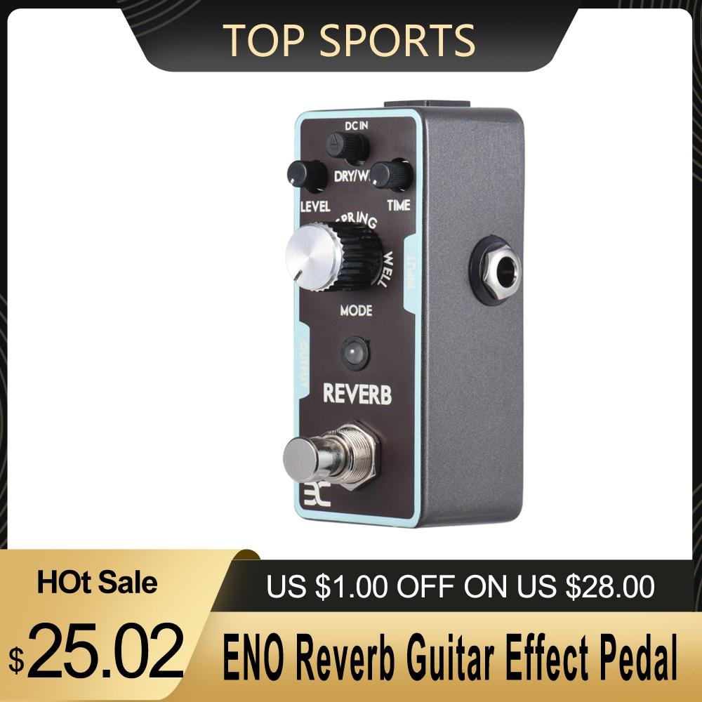 ENO Reverb Gitarre Effekt Pedal True Bypass gitarre zubehör