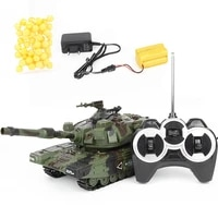 rc battle tank crawler tactical vehicle main battle military remote control tank with shoot bullets model electronic toys 132
