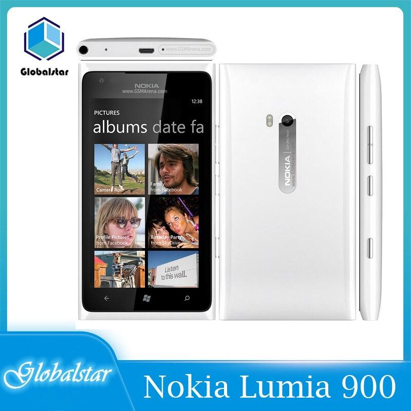 Nokia Lumia-teléfono 900 reacondicionado, Original, barato, desbloqueado, buena calidad, 3G, GSM, WIFI,...