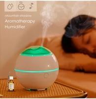 2021 new mountain view incense machine mini usb desktop fragrance spreading machinecolorful air lamphousehold sprayer