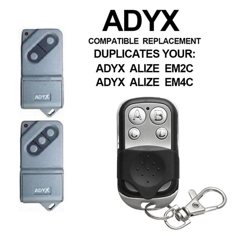 Пульт дистанционного управления ADYX для дверей гаража, 433 копировальный аппарат Mhz