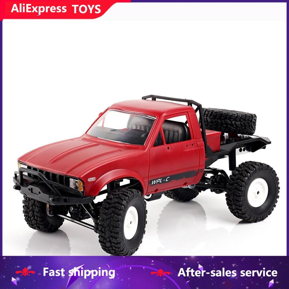 C14 diy fora de estrada rc semi-caminhão com chassi de metal/pneus tpr/15km/h velocidade máxima 116 2.4g 2ch 4wd carro brinquedo