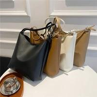 2 piece handbag womens 2021 new pu leather portable womens designerbag large capacity single shoulder bag purses and handbags