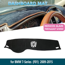 for BMW 7 Series F01 2009 2010 2011 2012 2013 2014 2015 730i 740i 750i 730d Dashboard Mat Inner Sun Shade dash Car Accessories