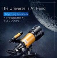 refracting telescope professional stargazing hd telescope adult student universe observation teaching experiment telescope