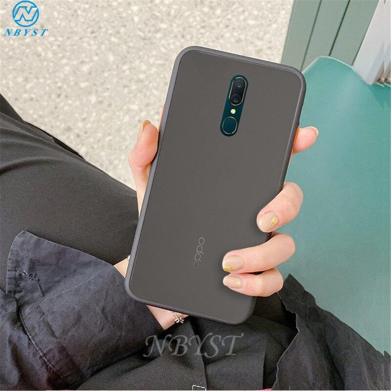 Funda de teléfono antigolpes mate Multicolor para OPPO Realme X50 XT X U1 Q C2 X2 5 2 Reno 10X ACE Reno2 F Z R17 R15X R11S