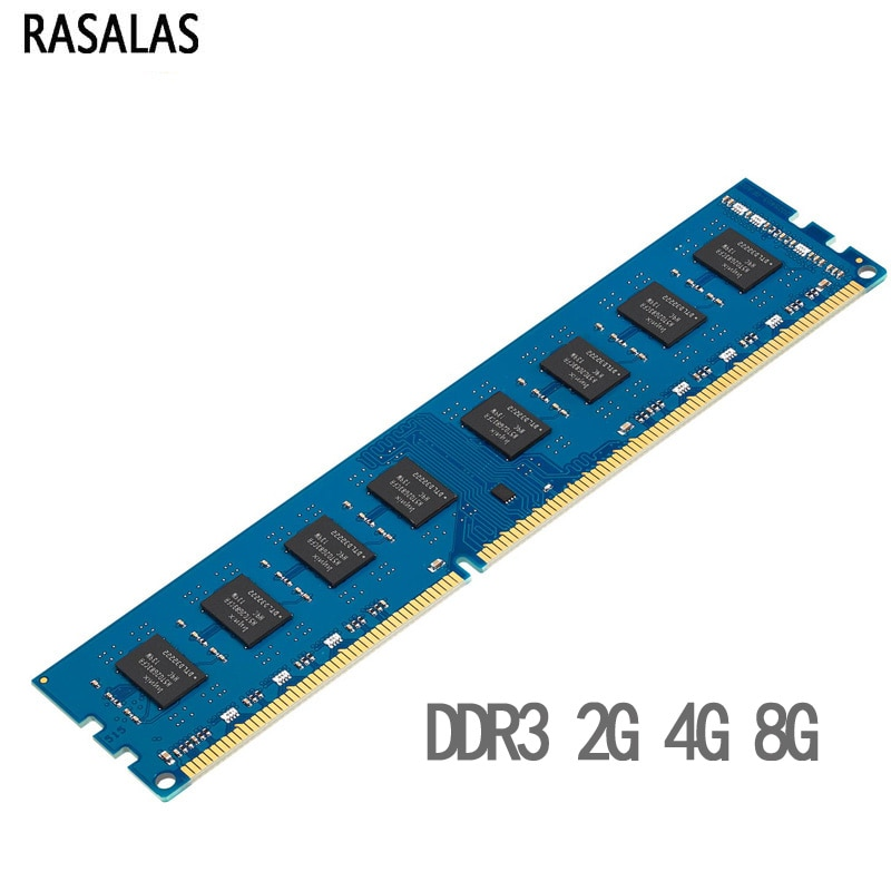 Rasalas Memoria RAM DDR3 DDR3L 4G 8G 2G 1,35 V 1,5 V...