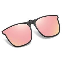 JULI Polarized TR90 Flip Up Clip on Sunglasses Men Photochromic Polarised Women Sun Glasses Color Ch