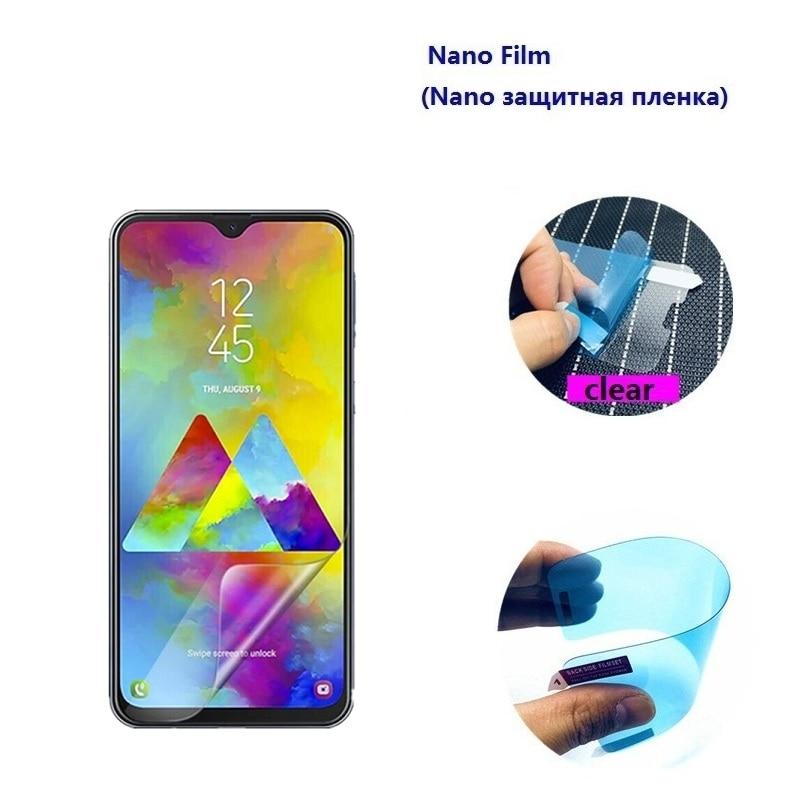 3 protectores de pantalla suave Nano para Galaxy J5 J6 J7 J8 Pro Plus 2016 2017 2018 película de pantalla europea no de vidrio templado