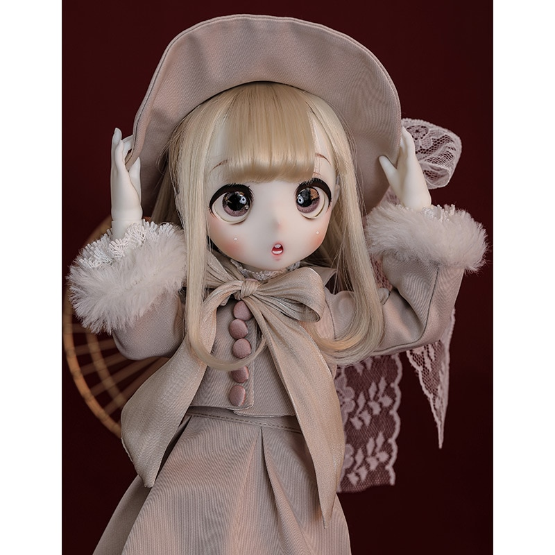 Limitada boneca nanako 1/4 bjd 38cmdoll anime figura bjd boneca conjunto completo dd mdd msd bola articulada boneca japão super dollmore ttya