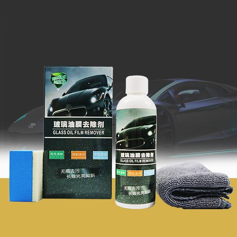 Lave-vitre de voiture, 100mL, peinture de pare-brise, lave-vitre, nettoyant gras, taches tenaces, détergent, accessoires de voiture