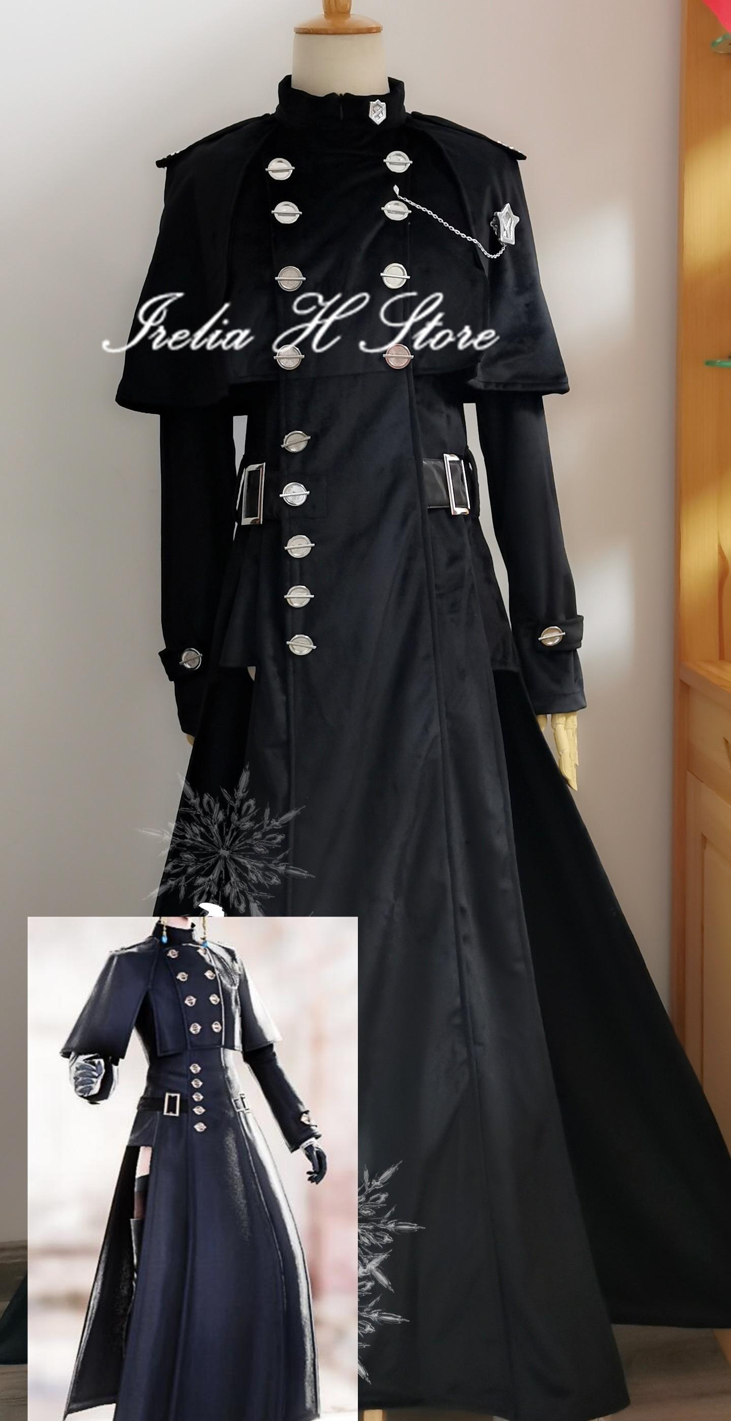 زي فاينل فانتسي XIV YoRHa من النوع 51 ، مصنوع حسب الطلب/الحجم FF14 ، زي تأثيري ، فستان أسود طويل