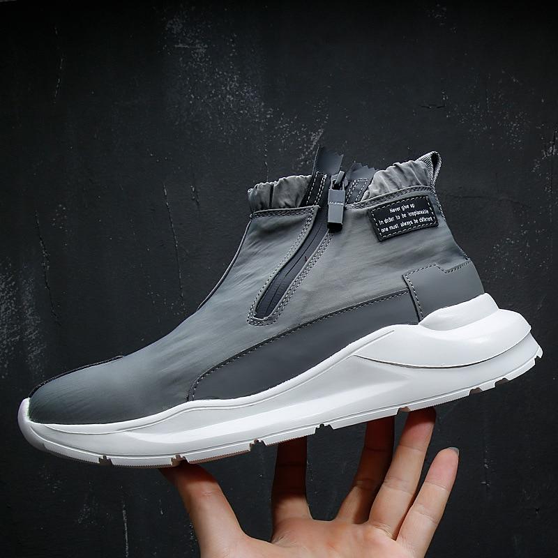 أحذية رجالي أحذية رياضية غير رسمية مسطحة كبيرة أحذية رجالي أحذية غير رسمية أسود أبيض عالية الجودة أحذية رياضية للرجال أحذية مشي G14-11