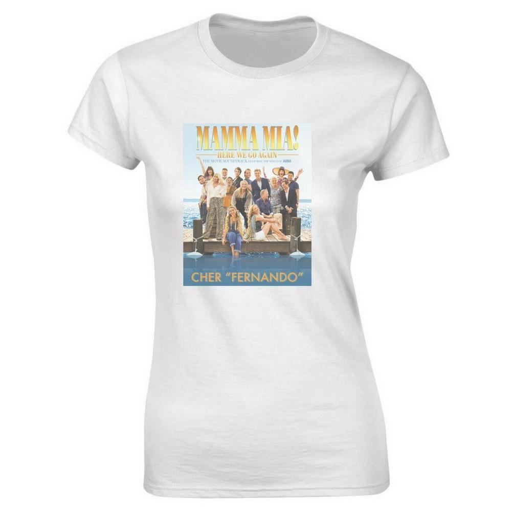 Ретро музыкальный фильм Мамма миа 2 We Are Back Again Tee мужская женская футболка Harajuku футболка в стиле хип-хоп