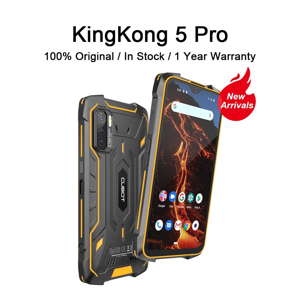 CUBOT Kingkong 5 Pro Rugged Smartphone Waterproof IP68/IP69K Global 4G LTE 8000mAh Android 11 Dual Speaker NFC Mobile Phone