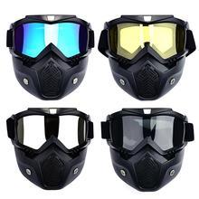 Snowboard Lunettes de Neige Lunettes de Ski Motoneige Lunettes De Ski Masque Coupe-Vent Motocross Lunettes De Soleil Plein Air UV400 Pour Le Cyclisme
