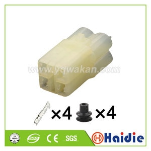 Free shipping 5sets 4pin sumitomo closed end sealed plug wire harness waterproof connectors 6180-4181