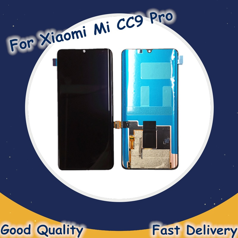 LCD Original para Xiaomi Mi CC9 Pro pantalla LCD Digitalizador de Panel táctil por Xiaomi Nota 10 Pro Nota 10 pantalla LCD de repuesto