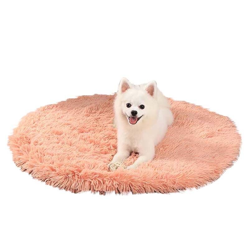 Inverno quente cobertor do animal de estimação antiderrapante à prova de umidade esteira do cão multi-cor opcional pelúcia maca do gato todas as estações sono profundo cama do filhote de cachorro