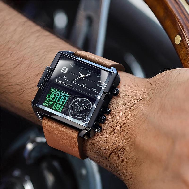 Top Selling Product In 2021 Men Watch Fashion Clock 3ATM Waterproof Mens Quartz Wristwatch Luxury Wr