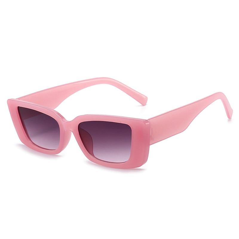 Vintage Square Sunglasses Women Steampunk Retro Sun Glasses Female  Designer Rectangle Eyewear Oculo