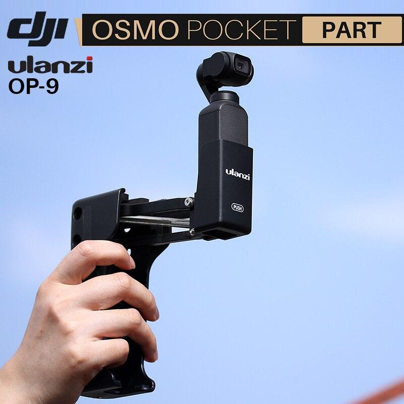 Ulanzi OP-9 4th Axi Stabilisator Griff Grip Arm für DJI OSMO Tasche Faltbare Z Typ Stabilisator Halterung OSMO Tasche Zubehör