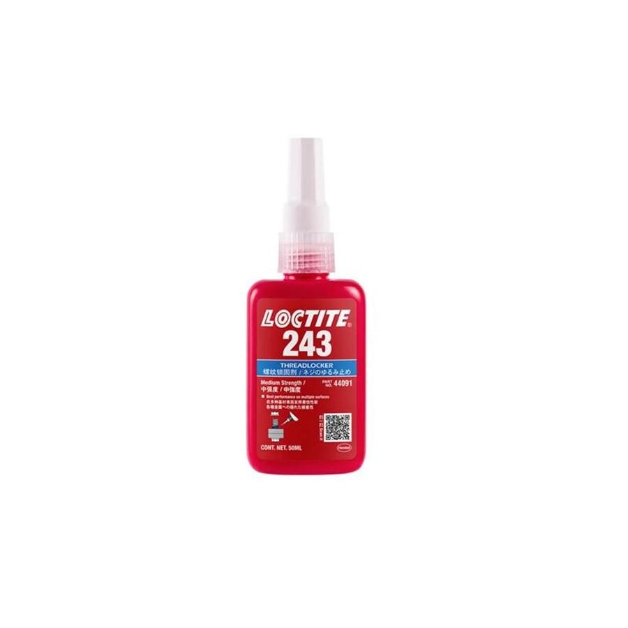 50ml loctite screw adhesive 243 anaerobic super glue high strength anti-loose anti-slip seal thread lock
