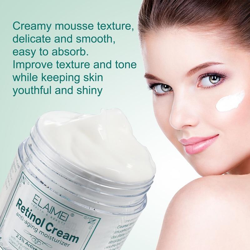 Face Cream Retinol Hyaluronic Acid Vitamin A Cream Face Care Anti-Wrinkle Moisturizing Creams Anti A