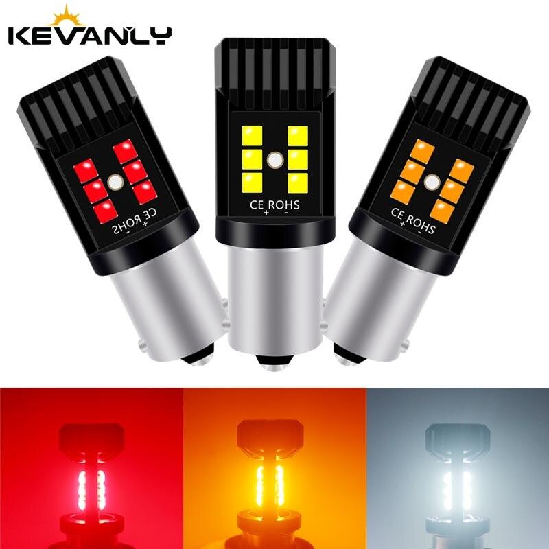 2020 Новый 1 шт. CANBUS BA15S P21W T20 7443 W21W/5W BAY15D 1157 3030 чипы светодиодный автомобильный резервный фонарь тормозной светильник светодиодный Светодиодный светильник для автомобиля s