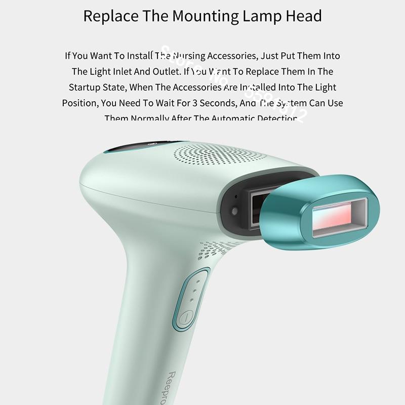 XiaomiYouPin Reepro IPL Laser Epilator 600000 Flash Permanent Hair Removal Painless Hair Removal Electric Epilator Hair Removal enlarge