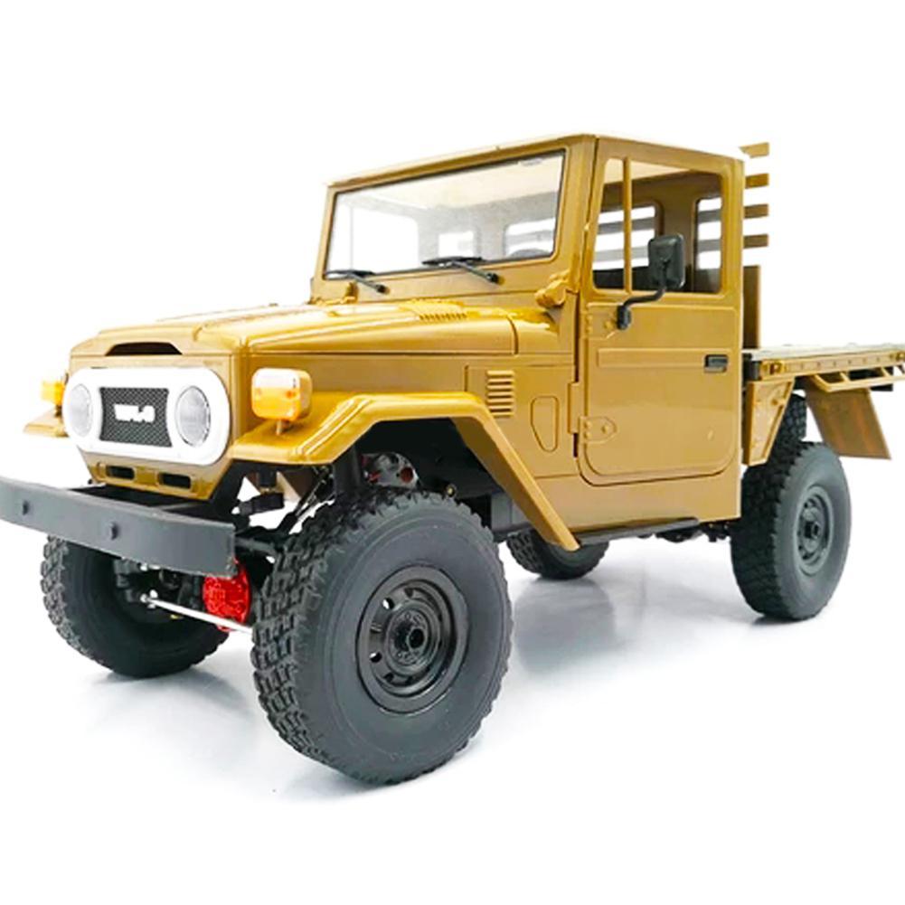 WPL C44 1/16 Metall Kit 4Wd Klettern Off-Road Truck Zubehör Geändert Upgrade Ohne ESC Batterie Sender Empfänger