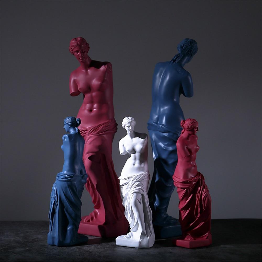 Фото - Statue Resin Broken Arm Venus De Milo Ornaments Sculpture of Greek God Miros Art Sketch Model Resin Crafts Home Decoration mark d fullerton greek sculpture