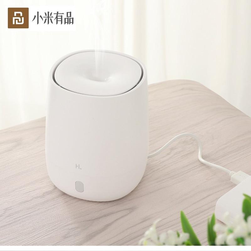 Nueva máquina de aromaterapia Youpin HL, difusor eléctrico USB de 120ML, Humidificador ultrasónico, difusor de aceite purificador de aire ligero Led
