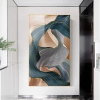 nordic canvas paintings modern abstract luxury ribbon prints wall pictures living room bedroom restaurant decor gold art posters