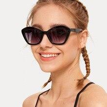 Vintage Sunglasses Fashion Cat Eye Sun Ray-Bans Designer Luxury Glasses Fashion Polygon Women Sungla