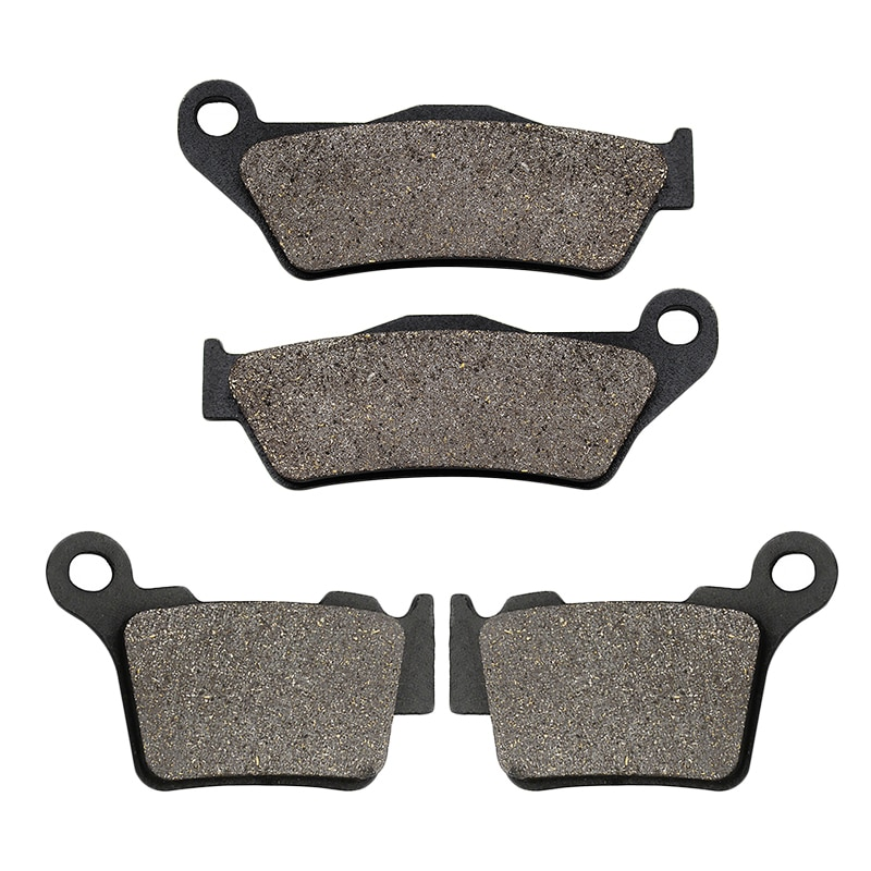 Motorcycle Front Rear Brake Pads for  KTM SX SXF XC EXC XCW XCF EXCF 125 150 200 250 300 350 400 450 500 525 530 625 2004-2018 areyourshop for 250 400 450 520 525 xcf w exc ex 525 mxc xcw 59039104000 magneto stator generator coil parts 59039104200 motor