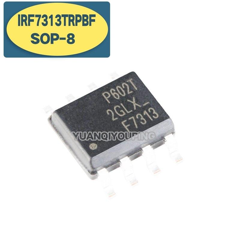 10 Uds IRF7313TRPBF SOP8 IRF7313TR SOP IRF7313 SOP-8 F7313 SMD