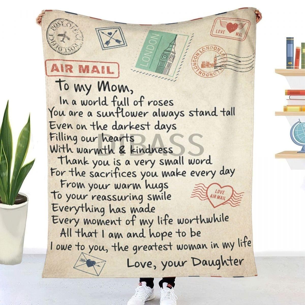 أعظم امرأة في حياتي ؛ هدية عظيمة لأمي شيربا ثلاثية الأبعاد نسيج فلانل مطبوع رمي بطانية للبطانيات الناعمة جدا ، غرفة نوم ديكو