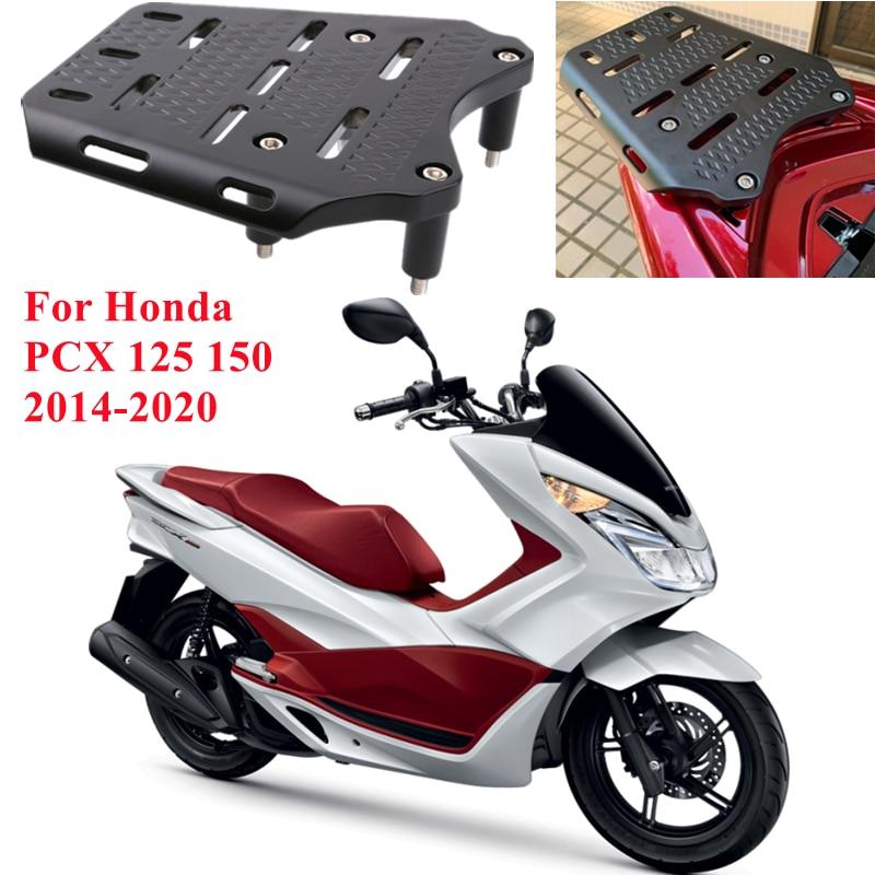 BEFIRE نك دراجة نارية من سبائك الألومنيوم الخلفي رف أمتعة حامل الرف لهوندا PCX 125 150 2014-2020