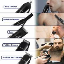 newElectric Shaver Grooming Kit Facial Body Hair Shaver for Men Beard Wet Dry Shaving Machine Rechar