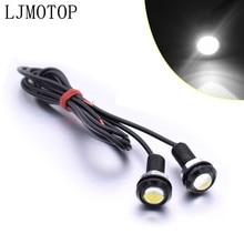 For Yamaha SEROW 225 250 TTR 125 250 600 XT250 TRICKER Eagle Eye LED Reverse Backup Light Daytime Running Signal Motorcycl Lamp