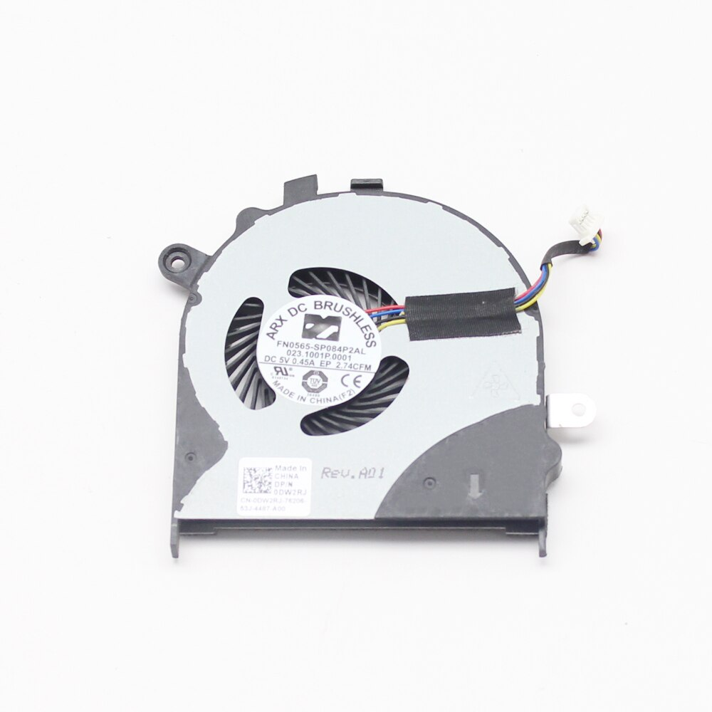 Genuine Laptop CPU Cooling Fan For Dell Inspiron 13-7347 13-7000 DW2RJ 0DW2RJ Fan