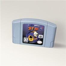 Игровой картридж Earthworm Jim 3D для 64 бит, американская версия, формат NTSC