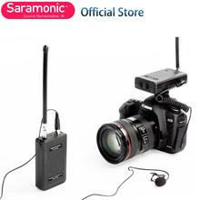 Saramonic Lavalier Draadloze Microfoon SR-WM4C Voor Gopro Hero 3/3 +/4 Vlog Canon Nikon Dslr Camera Sony Panasonic Camcorder
