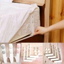 4pcs/set Triangle Fastener Grippers Sheet Clips Bed Sheet Mattress Holder Bed Supplies