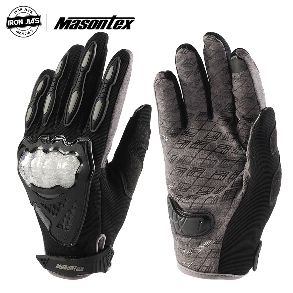 Masontex Motorcycle Gloves Touch Screen Breathable TPU Protection Men Moto Gloves Motorbike Motocross Outdoor Riding Gloves enlarge